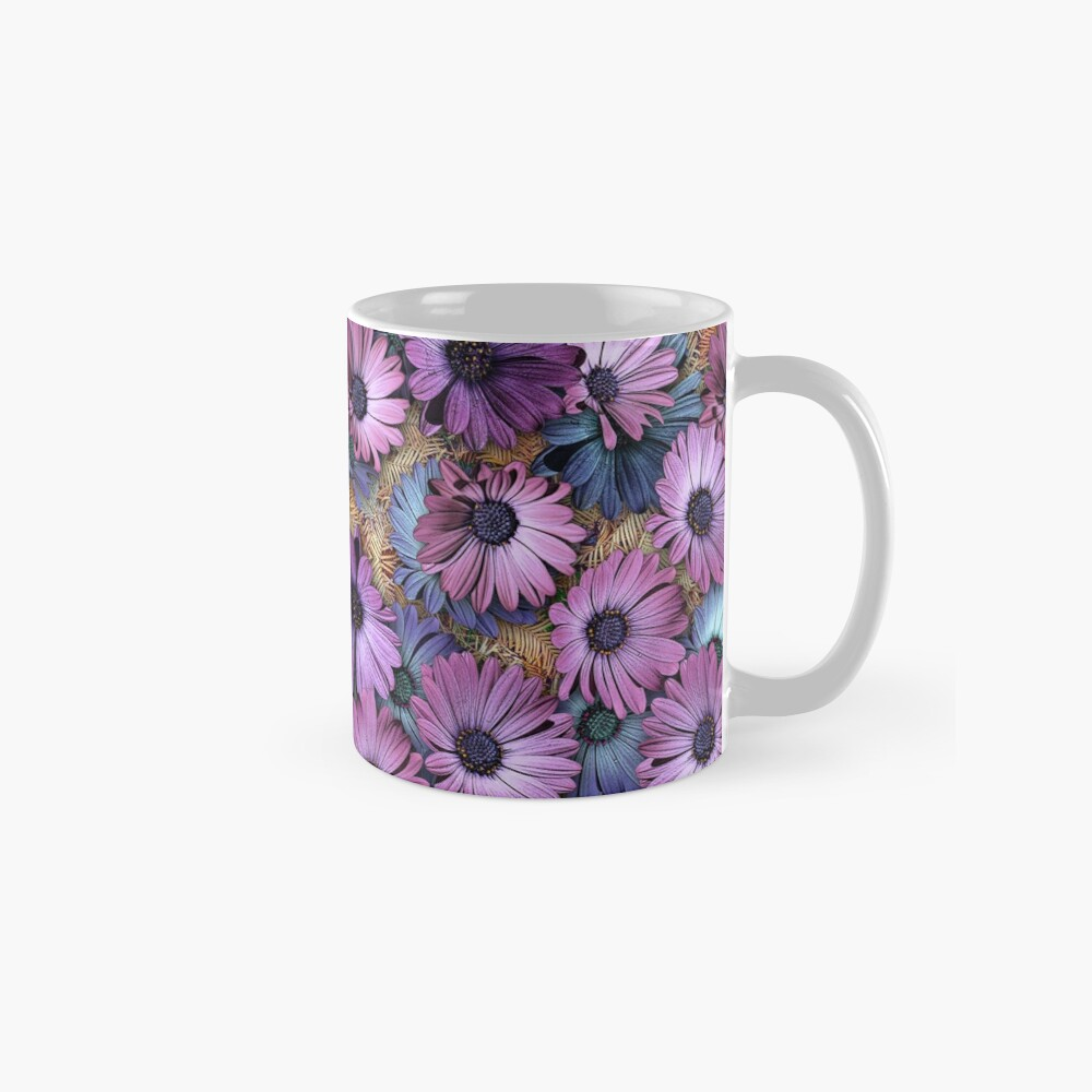 AFRICAN DAISIES ON THE FOREST FLOOR Classic Mug