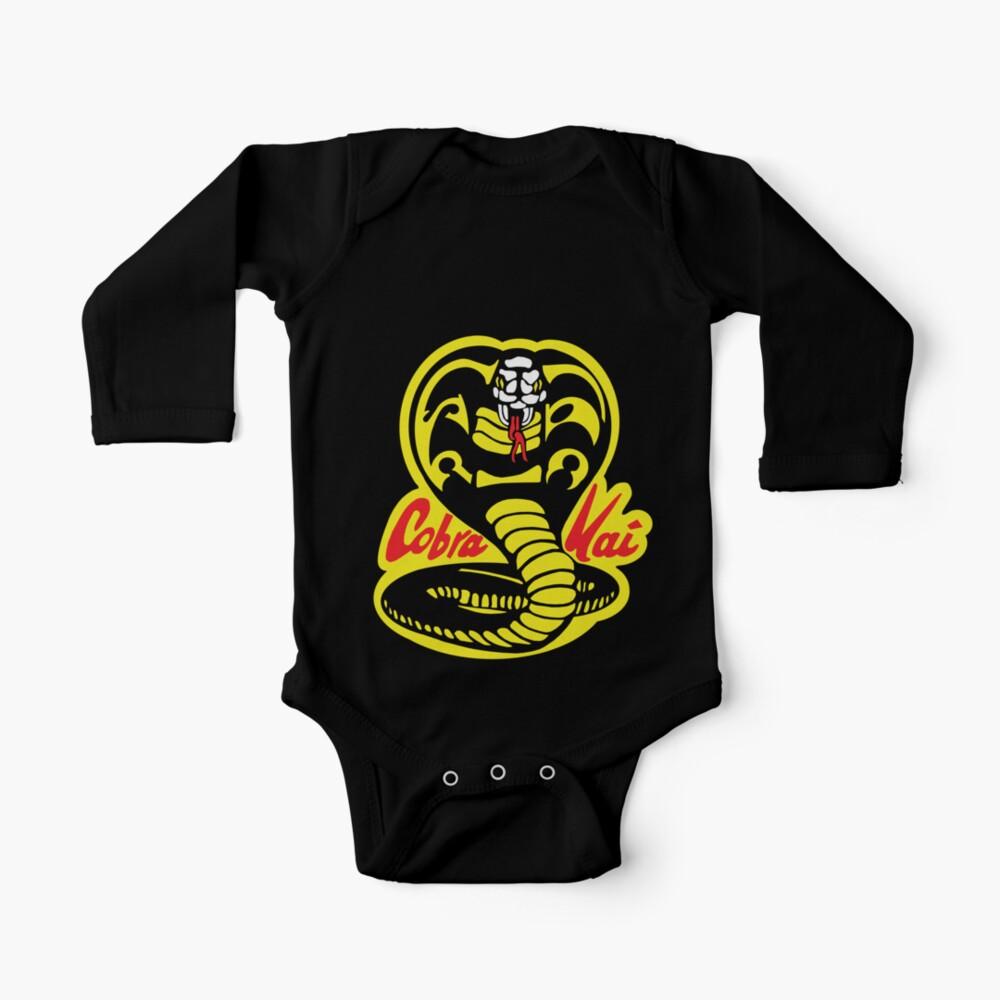 Cobra Kai Dojo - Black Baby One-Piece