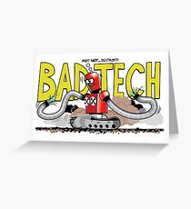 Bad Tech Day Greeting Card