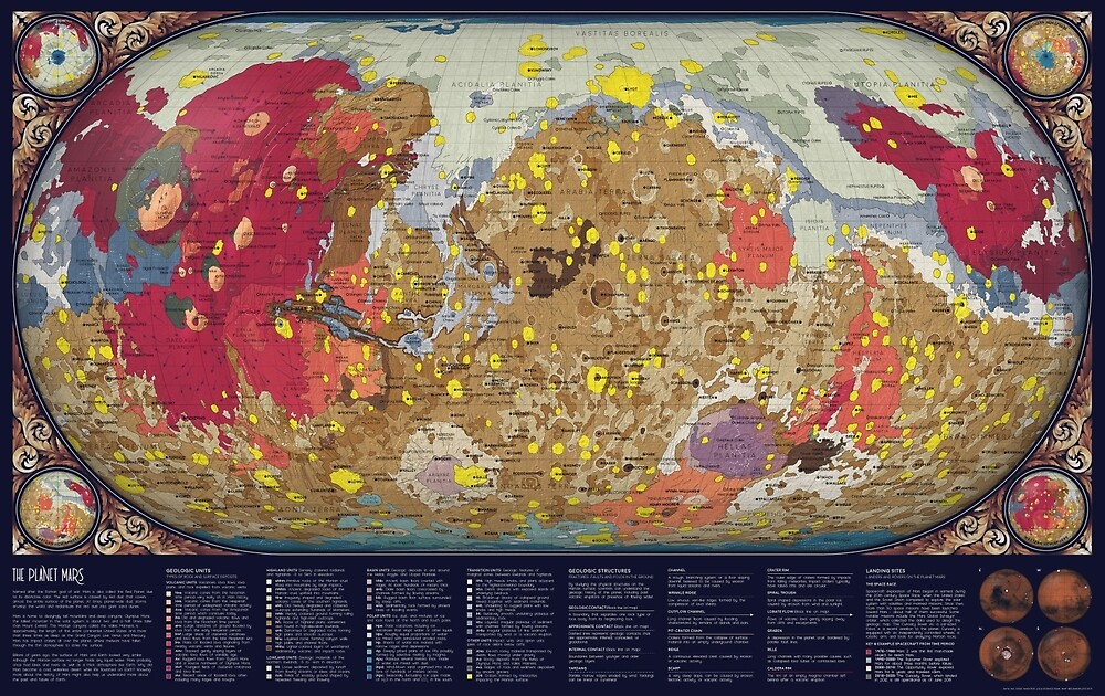 The Geology of Mars by Eleanor Lutz