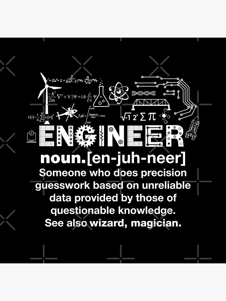 Engineer Humor Definition by lolotees