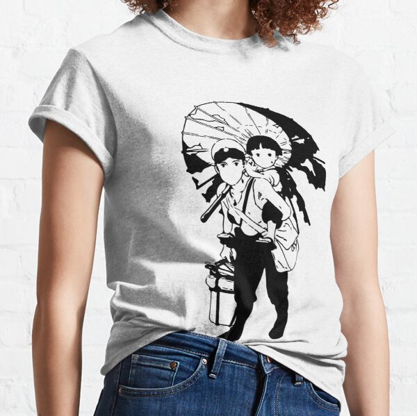 Grave Of Fireflies T Shirts Redbubble