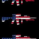 M27 IAR American Flag by nothinguntried