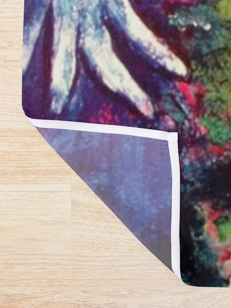 Alternate view of Marc Chagall, Le Paisage Bleu 1949 Artwork, Posters Tshirts Prints Bags Men Women Kids Shower Curtain