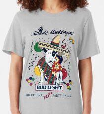 Spuds Mackenzie Fiesta (80's Throwback) Slim Fit T-Shirt