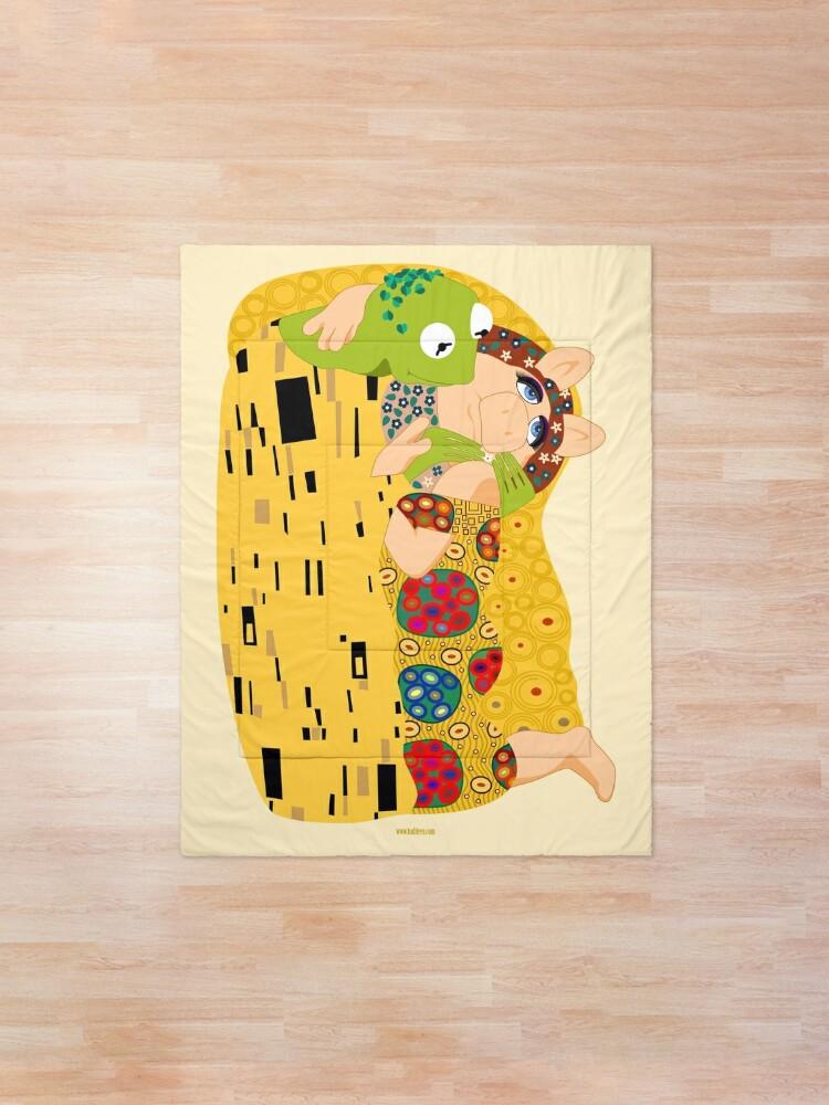Alternate view of Klimt muppets Comforter