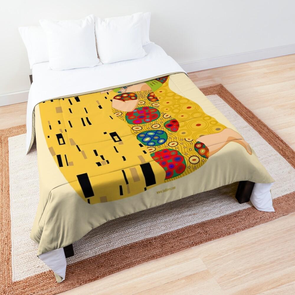 Klimt muppets Comforter