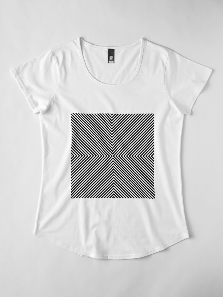 Alternate view of #Hypnosis #Hypnotic Image #HypnosisImage #HypnoticImage Premium Scoop T-Shirt