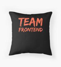 Cojín de suelo Frontend programmer team