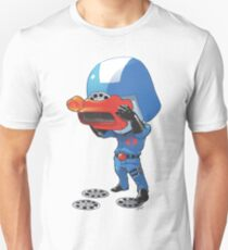 Cobra Commander with 80's viewmaster T-Shirt