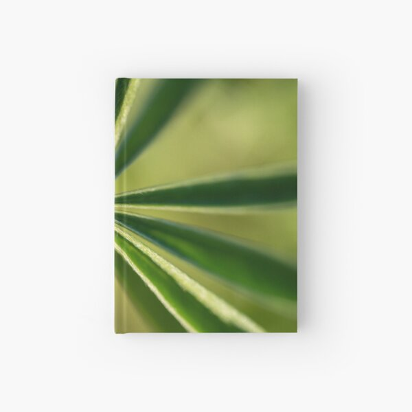 Lupine Leaves Hardcover Journal