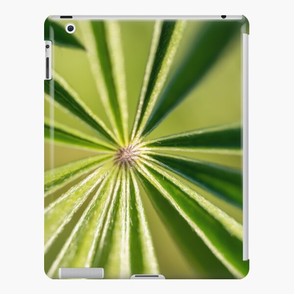 Lupine Leaves iPad Snap Case