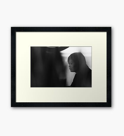 Contemplating... Framed Print