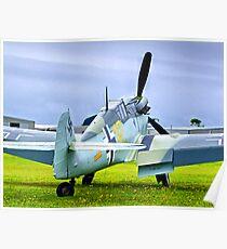 ME 109 Bouchon - Shoreham Airshow 2010 Poster