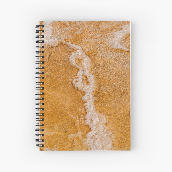 Yellowstone Hot Springs Spiral Notebook