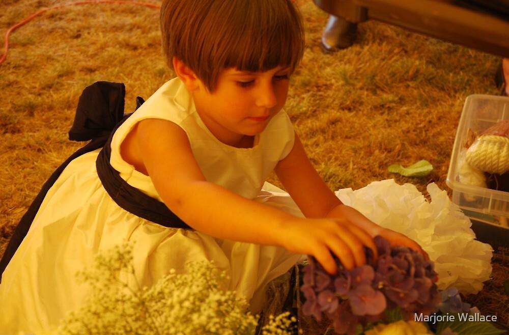 Flower girl by Marjorie Wallace