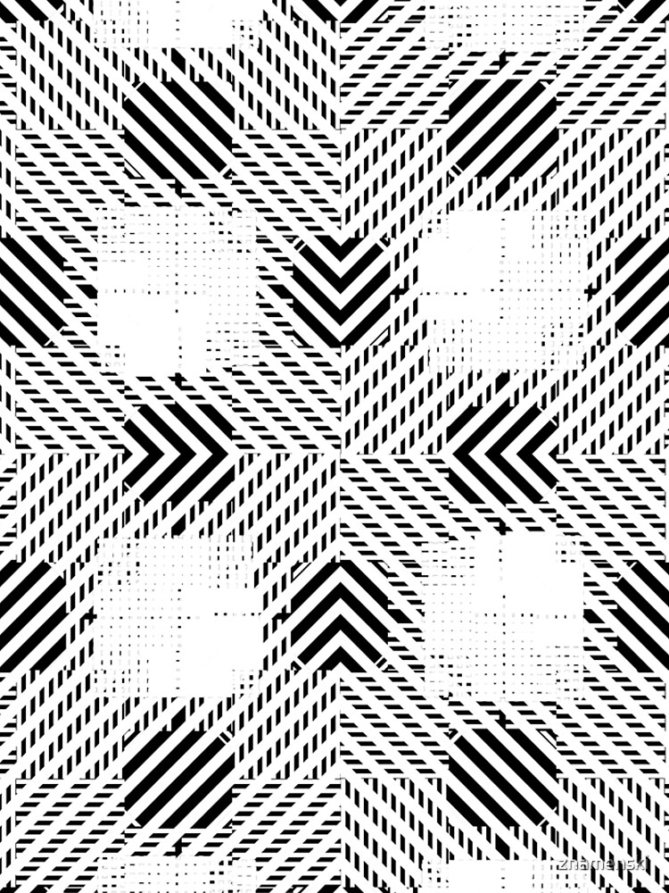 #Illustration, #pattern, #decoration, #design, abstract, black and white, monochrome, circle, geometric shape by znamenski