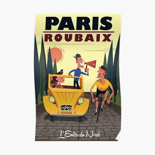 Paris-Roubaix poster Poster