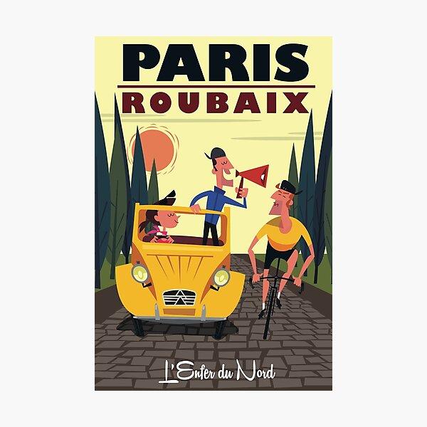 Paris-Roubaix poster Photographic Print
