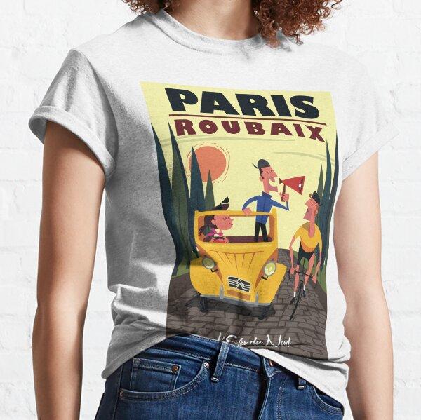 Paris-Roubaix poster Classic T-Shirt