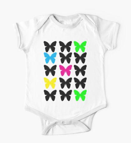 Colorful Butterflies Kids Clothes