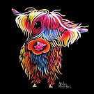 HiGHLaND CoW PRiNT SCoTTiSH 'BLooM' VON SHiRLeY MacARTHuR von Shirley MacArthur