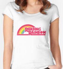 Reading Rainbow shirt – Netflix, LeVar Burton Women's Fitted Scoop T-Shirt