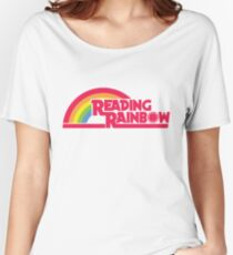 Reading Rainbow shirt – Netflix, LeVar Burton Women's Relaxed Fit T-Shirt