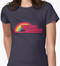 Reading Rainbow shirt – Netflix, LeVar Burton Womens Fitted T-Shirt