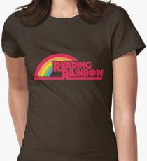 Reading Rainbow shirt – Netflix, LeVar Burton Womens Fitted T-Shirt