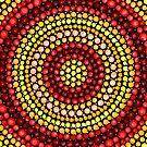 Earthy tones Mandala pattern by tqueen