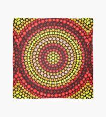 Earthy tones Mandala pattern Scarf