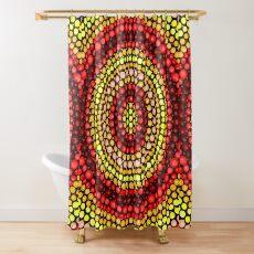 Earthy tones Mandala pattern Shower Curtain