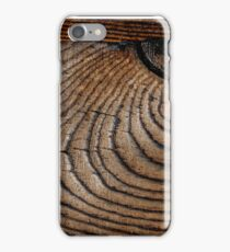Wooden background. iPhone Case/Skin