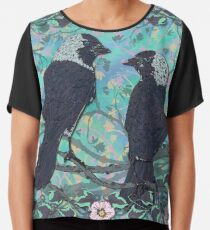 Forever Jackdaws Chiffon Top