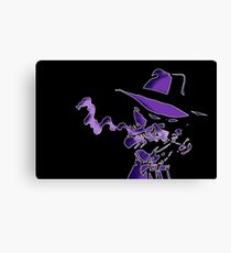 Purple Tracer Bullet Canvas Print