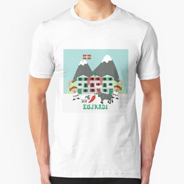 Euskadi Slim Fit T-Shirt