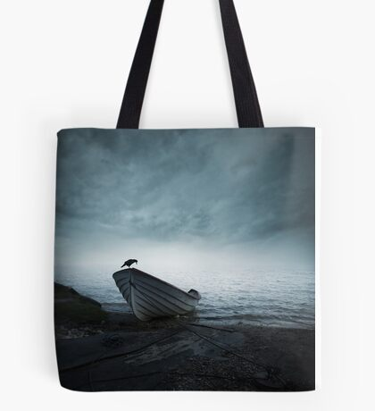 Mystery of the foggy lake Tote Bag