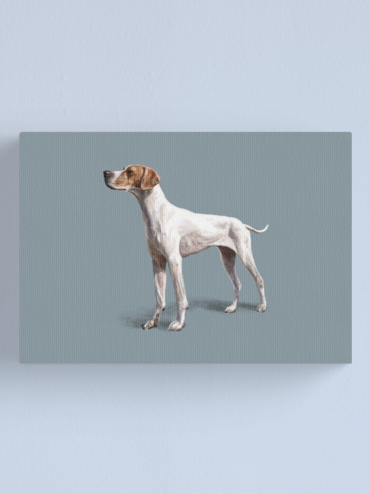 Alternate view of The Pointer Canvas Print