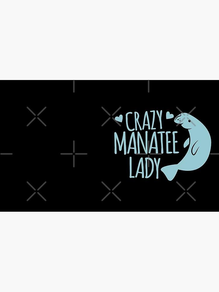 Crazy Manatee Lady by jazzydevil