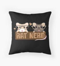 RAT NERD (Selbsternannter Experte für RATS) Dekokissen