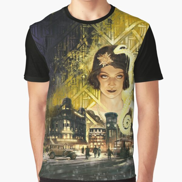 Berlin: The Wicked City Cover by Loïc Muzy Graphic T-Shirt