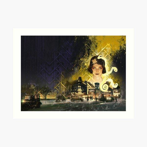 Berlin: The Wicked City cover art by Loïc Muzy Art Print