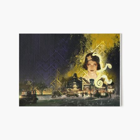 Berlin: The Wicked City cover art by Loïc Muzy Art Board Print