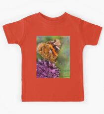 The Red Admiral. Kids Tee