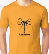Slenderman pull over geek funny nerd Unisex T-Shirt