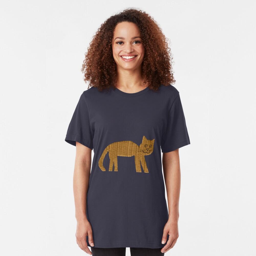Cat Slim Fit T-Shirt