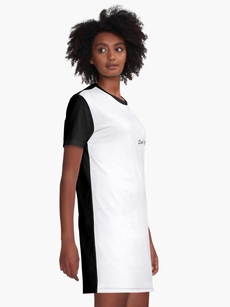 Alternative Ansicht von Dont grow up | Lustiges Geburtstagsgeschenk T-Shirt Kleid