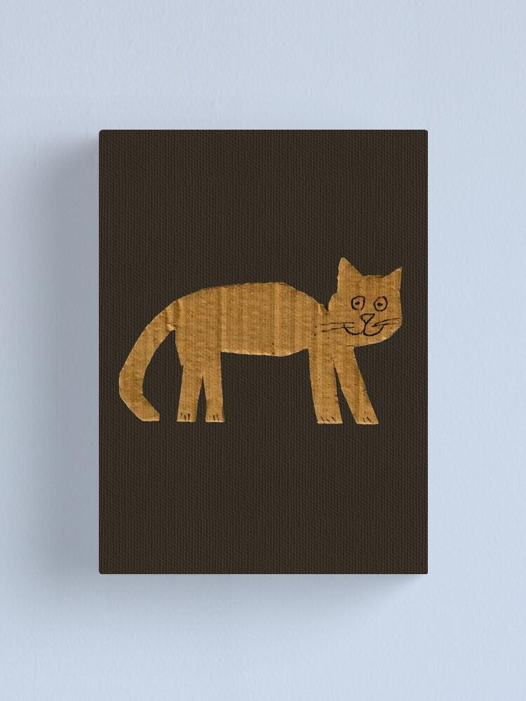 Alternate view of Simple cat Canvas Print