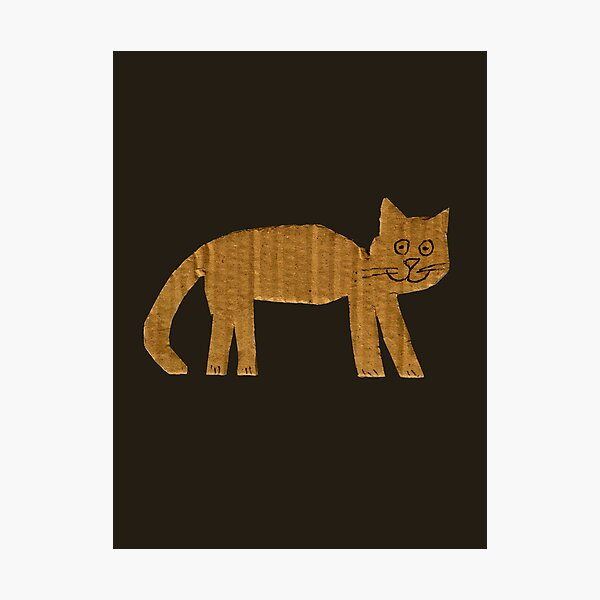 Simple cat Photographic Print